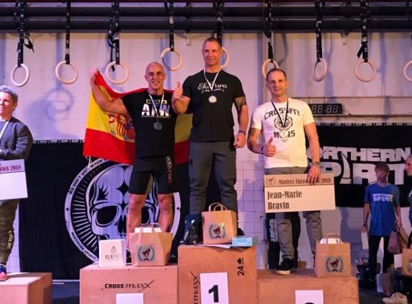 Medalla de plata en Holanda para el atleta del AFW Cross Team, David Usandizaga