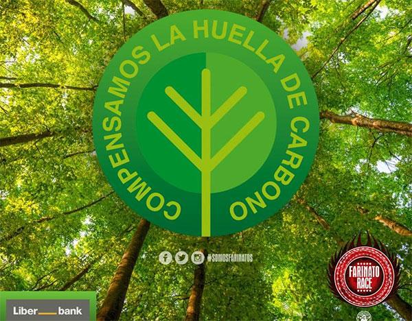 Farinato Race planta 500 árboles para compensar su huella de carbono