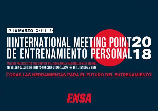 Todo listo para el II International Meeting Point de Entrenamiento Personal
