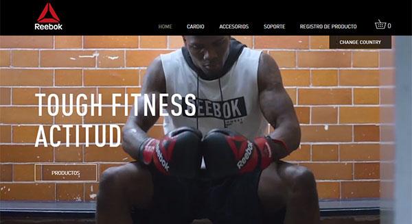 RFE estrena web de Reebok Fitness