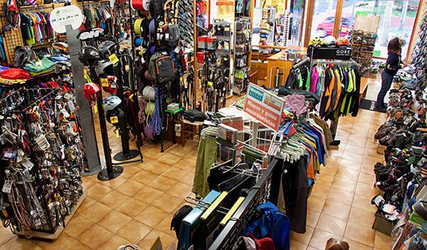 tienda north face jaca