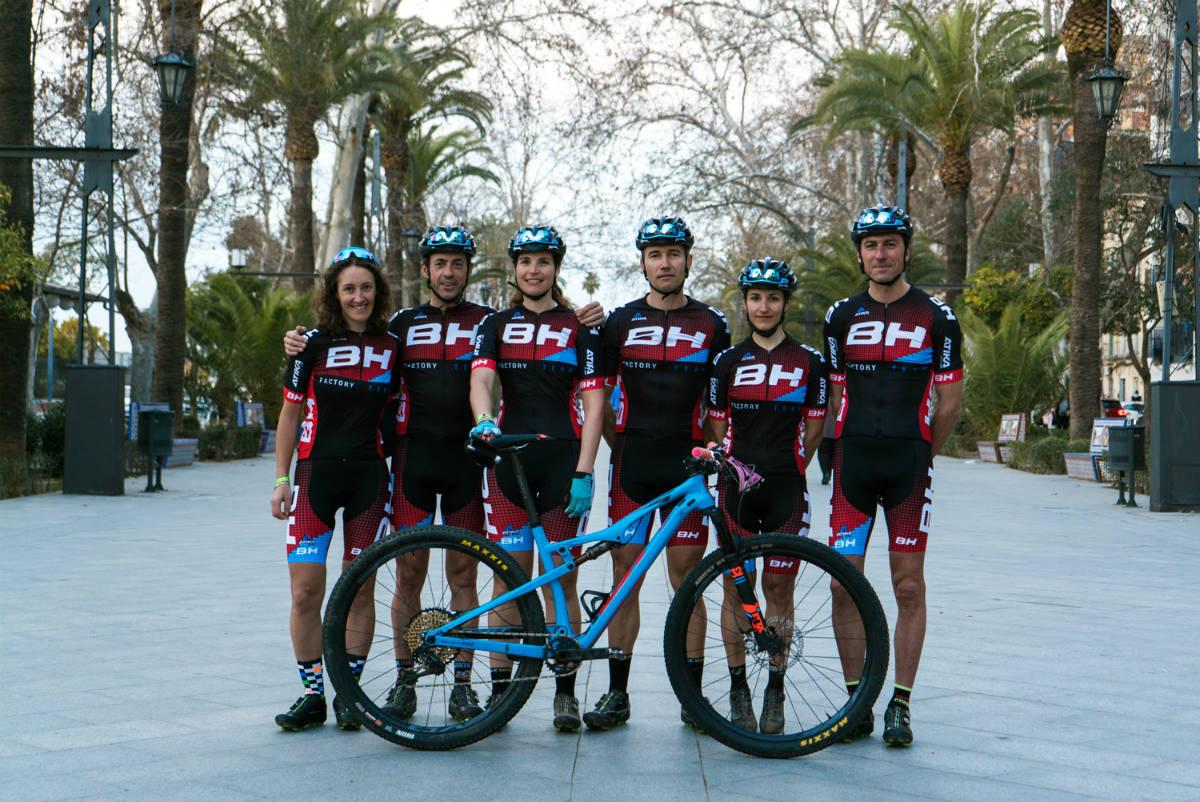El BH Factory Team apuesta fuerte por las competiciones de MTB