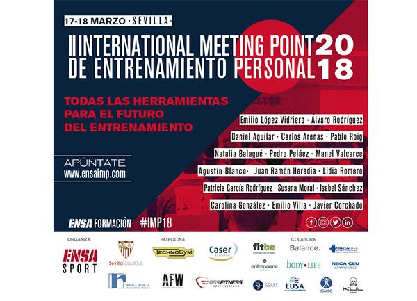 Oss Fitness, nuevo patrocinador del International Meeting Point de entrenamiento personal
