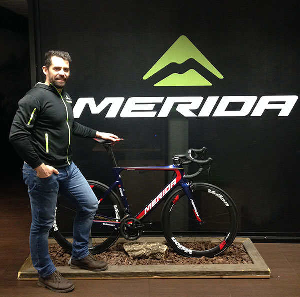 David Galán, nuevo responsable de marketing de Merida Bikes para España y Portugal