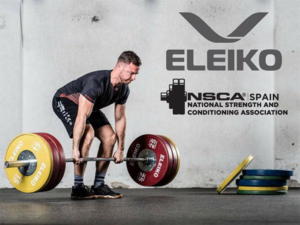 Eleiko, nuevo patrocinador Oro de NSCA Spain