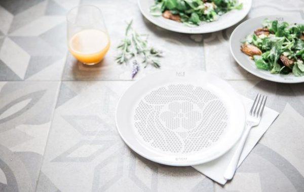 Diseñan un plato que reduce las calorías hasta un 30%