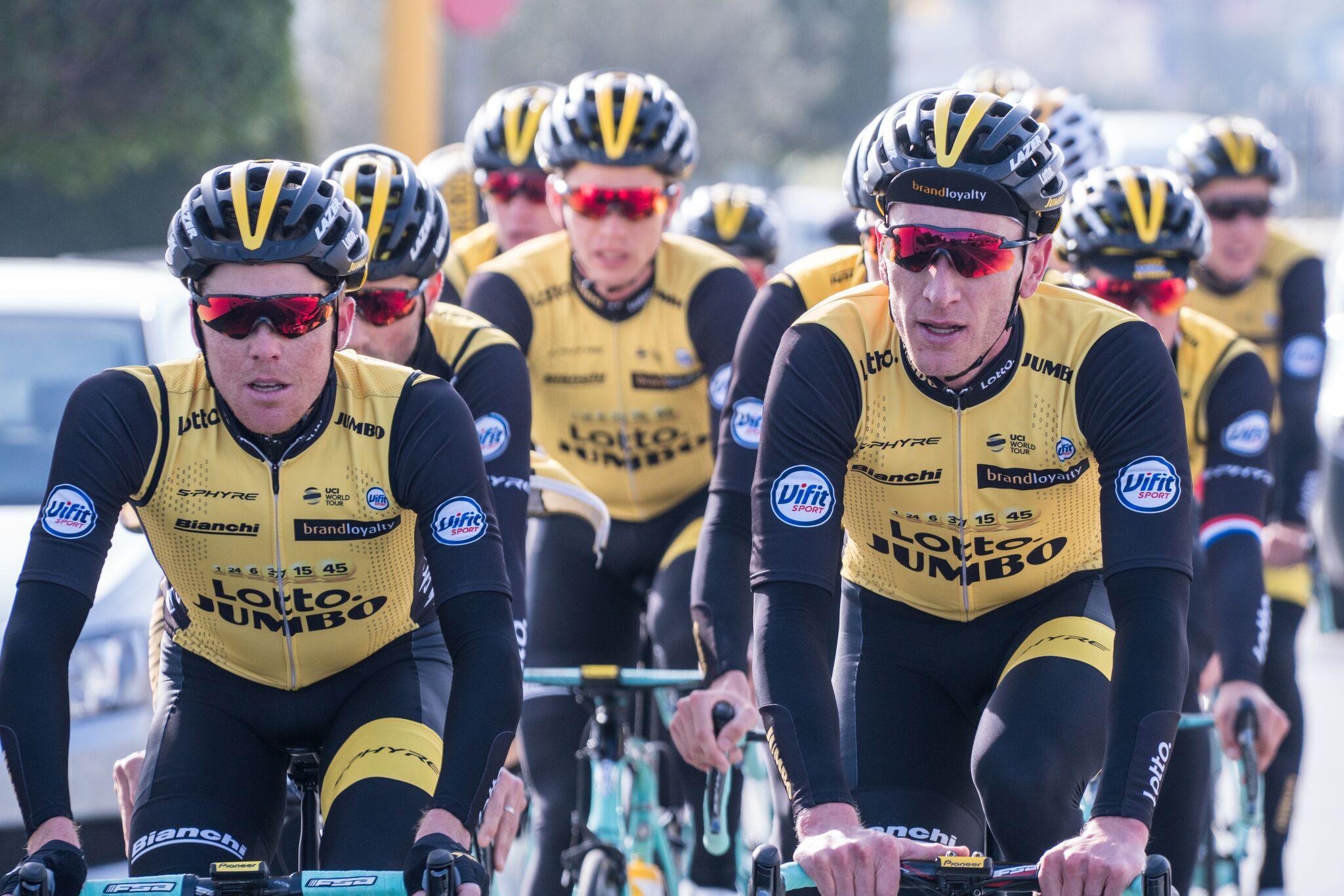 El equipo Lotto NL-Jumbo ayuda a desarrollar las nuevas gafas S-PHYRE de Shimano