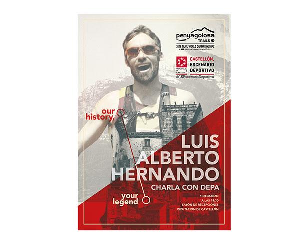 Luis Alberto Hernando y Depa ofrecerán una charla en Castellón