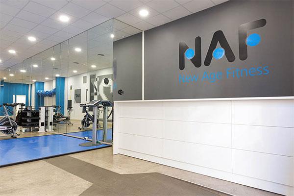 NAF inaugura su centro de entrenamiento y electroestimulación low cost