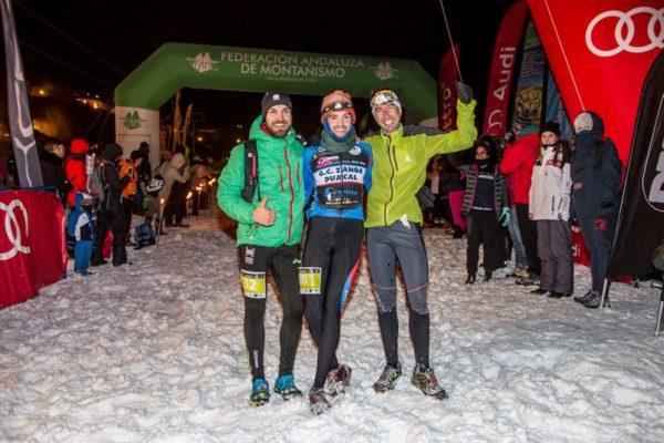 Jacob Gutiérrez y Alba Reguillo, campeones de España de Snow Running