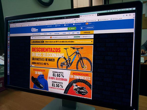 Las tiendas online de ciclismo mejor posicionadas en España