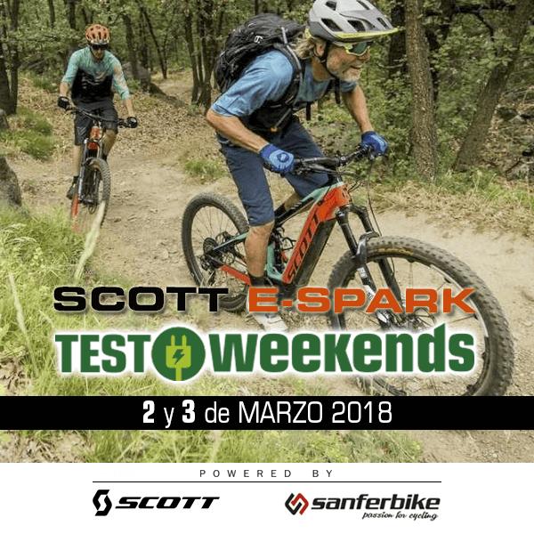 Sanferbike ofrece un test gratuito de la Scott E-Spark 710