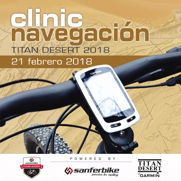 Sanferbike ofrece un clinic gratuito de navegación GPS para la Titan Desert
