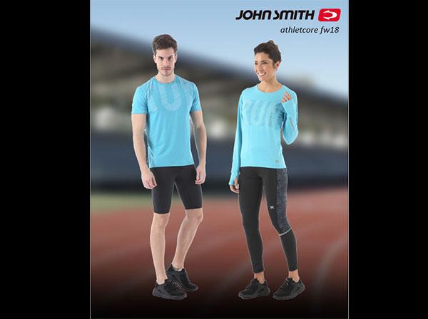 John Smith presenta su colección de running Athletcore para el próximo invierno