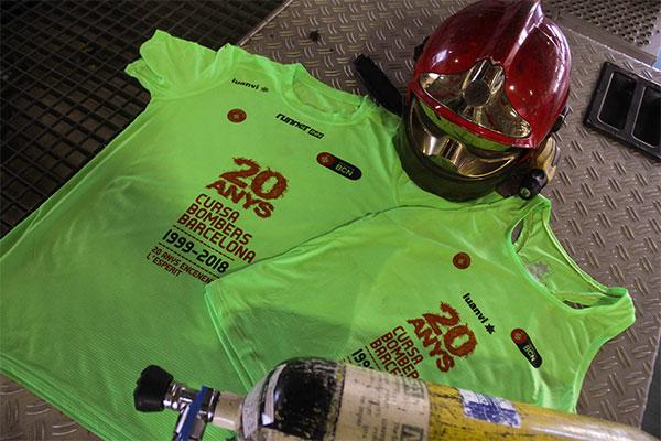 La RunnerInn Cursa Bombers de Barcelona presenta su camiseta oficial
