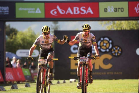 El Buff Scott MTB Team triunfa en la Cape Epic 2018