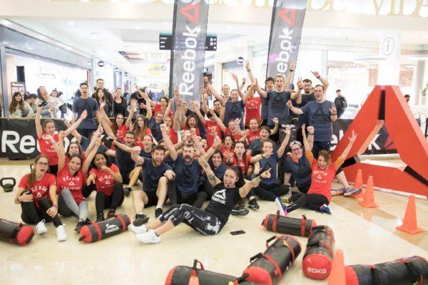 Celebrado un entrenamiento funcional organizado por Reebok y Parquesur