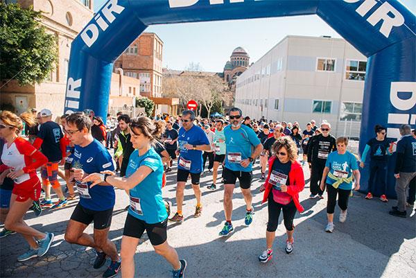 La Cursa Científica del Hospital Sant Pau bate su récord de participación