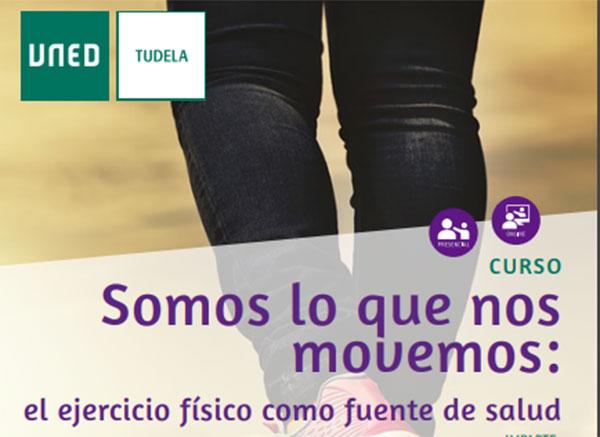 Uned Tudela presenta el curso 'El ejercicio físico como fuente de salud'