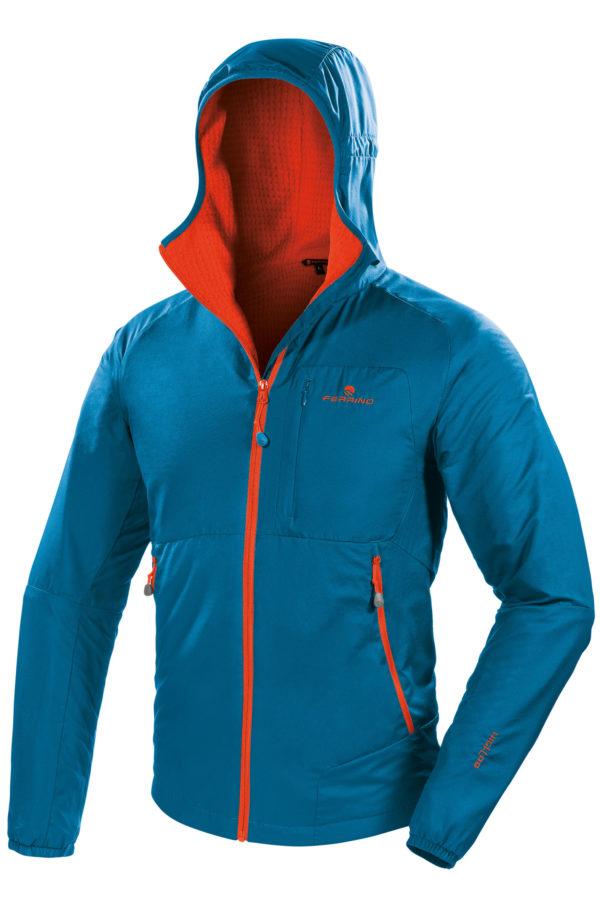 Ferrino desarrolla la nueva Breithorn Jacket con el tejido técnico Polartec Alpha Direct