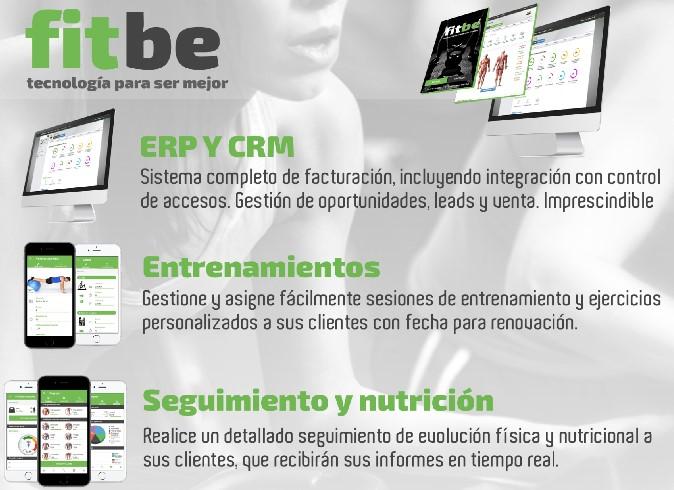 Fitbe amplía las funciones de su software para gimnasios