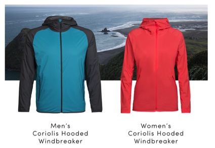 Icebreaker presenta la chaqueta cortavientos Coriolis