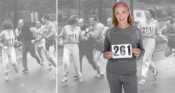 La primera maratoniana que tumbó al machismo: K. V. Switzer