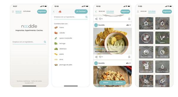 Nooddle, la app que te dice qué cocinar con lo que tienes en la nevera