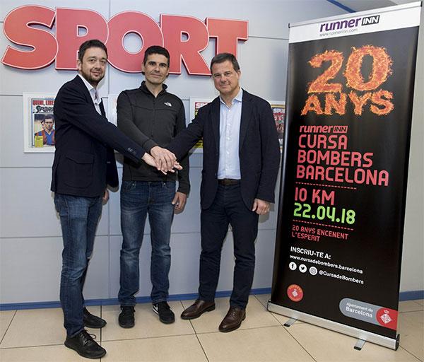 RunnerInn da nombre a la Cursa Bombers de Barcelona