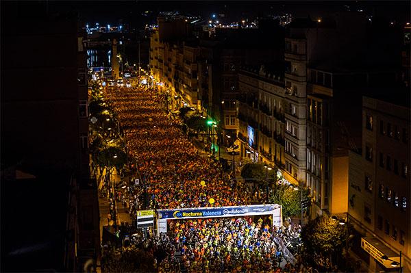 La 15K Nocturna Valencia Banco Mediolanum entra en el calendario internacional