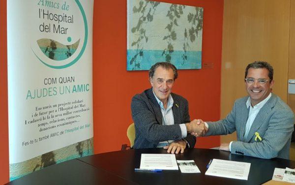 Fundació Claror y Fundació Amics de l'Hospital del Mar firman un acuerdo