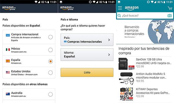 """Amazon lanza las """"compras internacionales"""""""