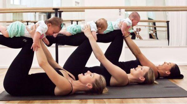 Cómo entrenar con bebés