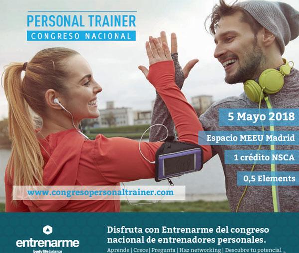 Iván Gonzalo (Elements) inaugurará el IV Congreso Personal Trainer