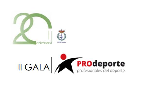 Coplef Madrid celebrará su 20º aniversario junto a la II Gala PROdeporte