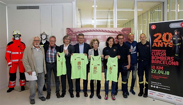 La 20ª edición de la RunnerInn Cursa Bombers espera a 14.000 corredores