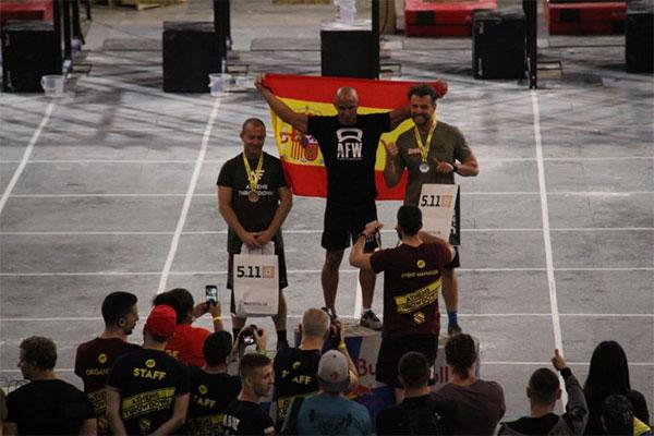 EL AFW Cross Team consigue el oro en Atenas