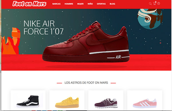 Foot on Mars arranca la venta online