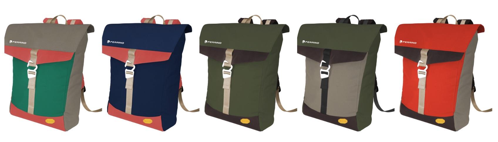 Ferrino presenta junto a Vibram una mochila edición limitada hecha en la 'Milan Design week'