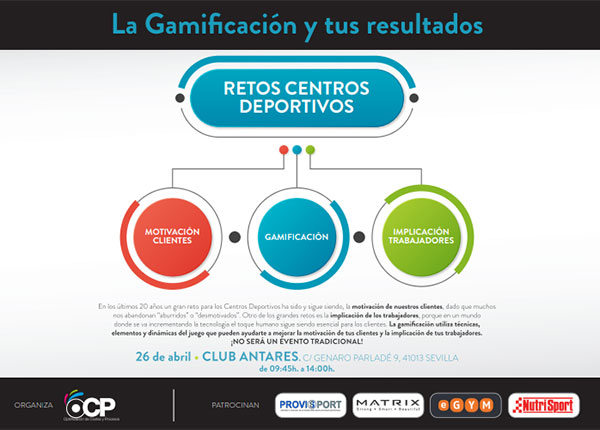 Nueva edición de 'La Gamificación y tus resultados', en Sevilla