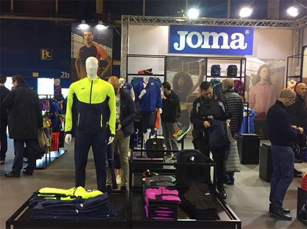 Joma presentará sus novedades de running en la feria Expodepor