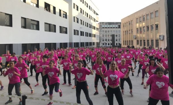 La Masterclass del gimnasio Viding Sant Jordi recauda más de mil euros