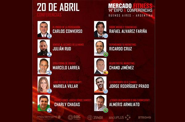 Embarazo Activo, ponente en Mercado Fitness Buenos Aires 2018