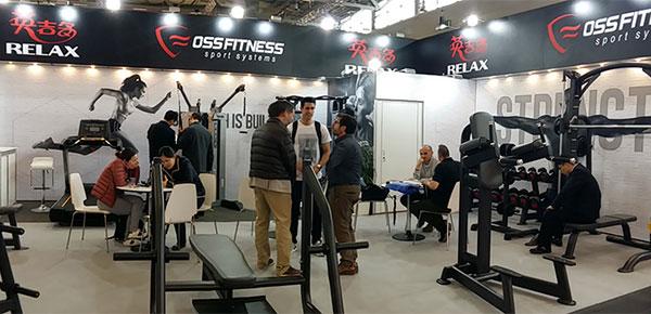Oss Fitness expondrá en FIBO 2018 por partida doble