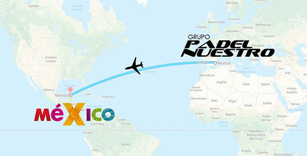 Padel Nuestro abre oficinas en México para dar el salto a toda América