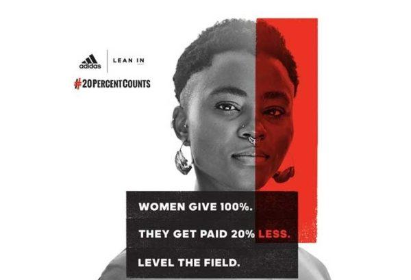 Reebok y Adidas hacen campaña por la igualdad salarial