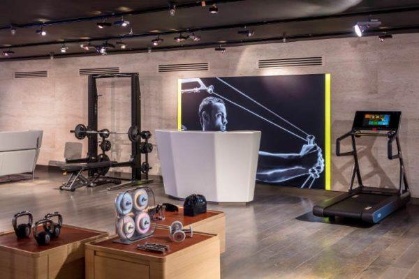 Technogym renueva su tienda en Harrods de Londres