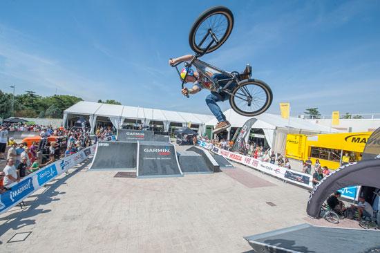 Webike organizará una competición de BMX Freestyle