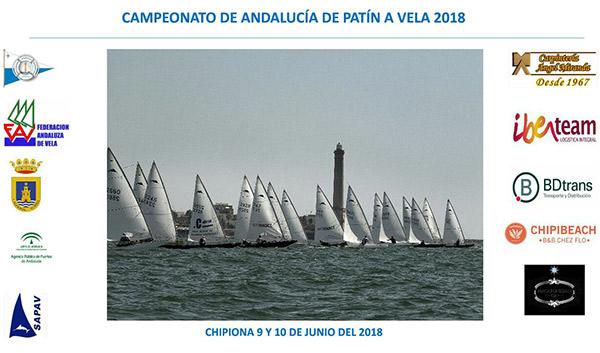El Campeonato de Andalucía de patín a vela calienta motores