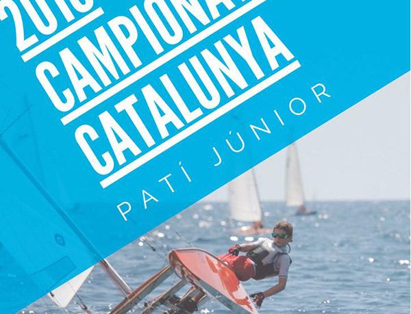 El Campeonato de Cataluña de patín a vela junior 2018 calienta motores